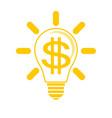idea to make money vector image vector image