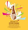 Soft Drink EPS10 vector image vector image