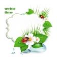 spring frame vector image