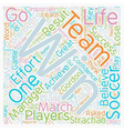 Success Lessons From Soccer How To Win or Lose In vector image vector image