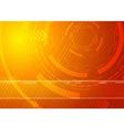 Sunburst - Technology background vector image
