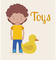 toys kids vector image vector image