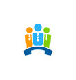 work call logo icon design vector image