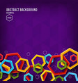 abstract dynamic geometric clean template vector image