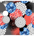 abstract fantastic bright colored pattern vector image vector image