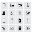 energetics icon set vector image