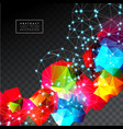 geometric background abstract vector image