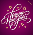 Happy new year hand lettering vector | Price: 1 Credit (USD $1)