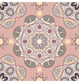 Oriental lace seamless pattern vector image