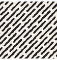 Seamless Black And White Jumble Lines vector image