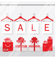 Shopping and retail sale sign vector image