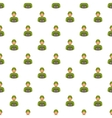 Soldier pattern cartoon style vector image