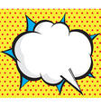 speech bubble pop artcomic book background vector image vector image