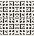 stylish lines lattice ethnic monochrome texture vector image vector image