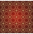 abstract geometric background with ethnic ornament vector image vector image