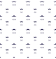 hand drawn seamless pattern in doodle style vector image vector image