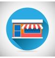 Marketing Commerce Trade Symbol Shop Icon Greeting vector image