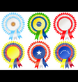 south american rosettes vector image
