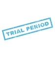 Trial Period Rubber Stamp vector image vector image