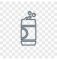 can of beer concept linear icon isolated on vector image