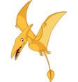 cartoon pterosaurs vector image vector image
