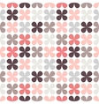 Cute retro abstract floral seamless pattern vector image