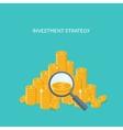 Flat backgrounds set Money vector image