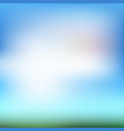 gradient blurred blue abstract background vector image