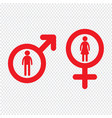 man and woman people icon design vector image