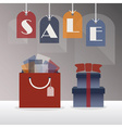 Shopping and retail sale sign vector image vector image
