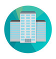 single city building icon vector image vector image