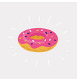 the inflatable circle donuts vector image vector image