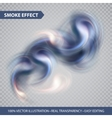Colorful smoke on isolated background vector image vector image