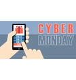 Digital cyber monday sale banner design