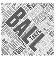 Golf Beginner Basics V Word Cloud Concept vector image vector image