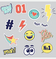 patches for t shirt print vector image