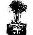 roots spirit vector image vector image