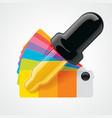 color picker icon vector image