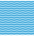 blue flat wave pattern vector image