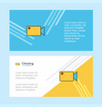 camcoder abstract corporate business banner vector image
