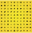 e-commerce 100 icons universal set for web and ui vector image