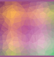 multicolor carnival polygonal background vector image vector image