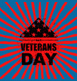 veterans day in usa flag america folded