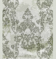 vintage baroque card background luxury vector image vector image