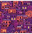 Houses New Pattern 5 vector image