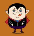 Dracula cartoon vector image