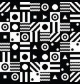 abstract background with black and white elements vector image vector image