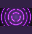 Neon violet lighting tubes