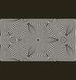 seamless 3d pattern geometric waves 3d vector image