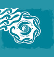 seattle city flag vector image